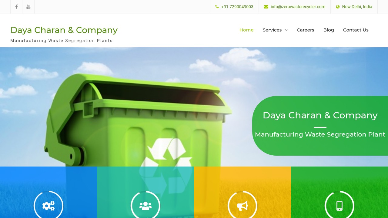 Zero Waste Management, Plant Manufacturing, Waste Segregation in India